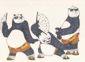 KungfuPanda doodles01 jan2013 by AlexBaxtheDarkSide