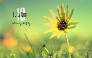 Simply beautiful conky. Made For Conky Manager by speedracker