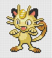 52.meowth by Electryonemoongoddes