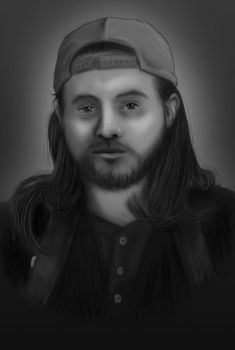 Kevin Smith - Silent Bob by reaper61