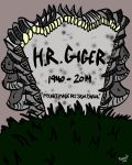 H.R. Giger RIP by quentinlars