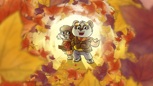 Funky Panda youtube art - November 2014 by petirep