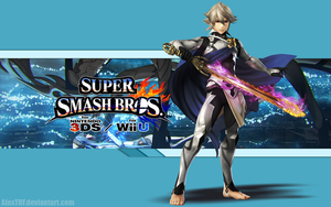 Corrin (M) Wallpaper - Super Smash Bros. Wii U/3DS by AlexTHF