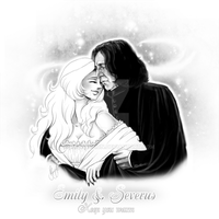 Emily+Severus-Keep you warm by RedPassion
