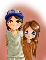 Clementine - Big Sister Clem (Colour Practice) by Crazyb2000