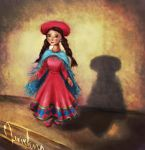 Peruvian inspired doll by must-luv
