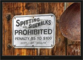 Spitting Prohibited by HogRider
