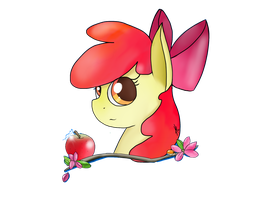 Applebloom by A-happy-thought