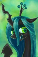 Queen Chrysalis by IFtheMaineCoon