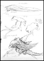 Sketchbook - Hammerheads by nicholaskole