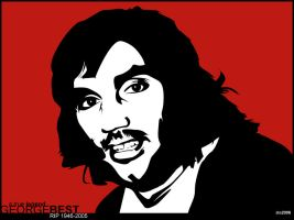 George Best by cutthekidsinhalf