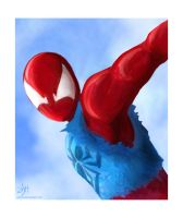 The Scarlet Spider by ashrel