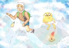 .:Adventure Time:. Screencap Redraw by EvaHolder