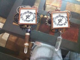 Elder Sign Pins by AirshipPirateDaylina