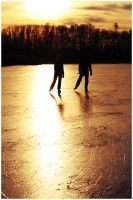 Skating at Sundown by japfie