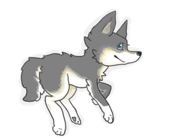 Fly wolf fly! by Boxpet