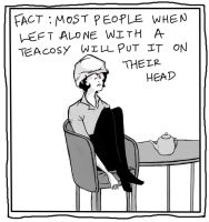 sherlock teacosy by pondicherry-baby