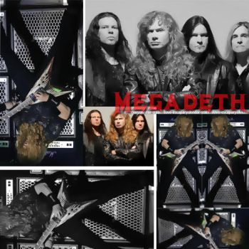 Megadeth by stillxinlove