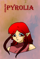 Evolved Pyrolia - Bust by nads6969