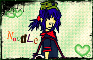Noodle. by lemonwhogirl