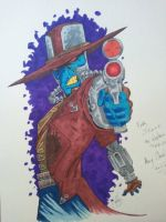 Cad Bane for my nephew by unsane-images