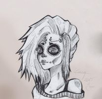 Sugar Skull by Kiccyke