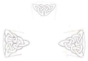 Celtic Knotwork for Crucifix by revolverkiller