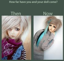 Dolly update meme - Levi by Pindakees