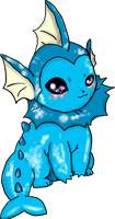 Vaporeon by FaffyFlaaffy