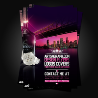 Flyers promotionel Artsngraph by Adriano09
