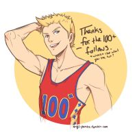 Brandon-100+ tumblr followers by Yami08