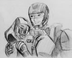 Tali x Shepard (81) by spaceMAXmarine