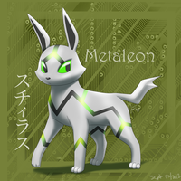 Metaleon v3.0 :fan pokemon: by BlazeTBW