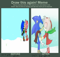 Sonamy Winter: redrawn by sonamy-4eva