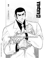 Golgo with Kitty by Thundertori