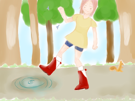These Boots Are Made For Splashin by lovelyshaude