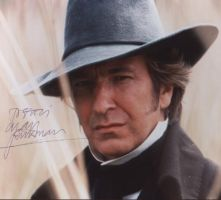 Signed photo by Alan Rickman 3 by JanuaryGuest