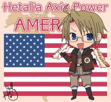 Hetalia Axis Power America by leadervance
