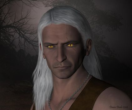 The Witcher Geralt by wheeter