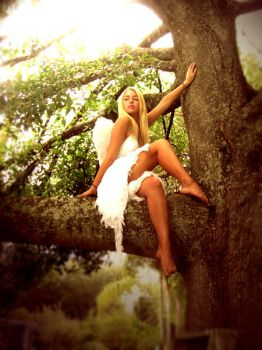 Angel in the Trees by swedie