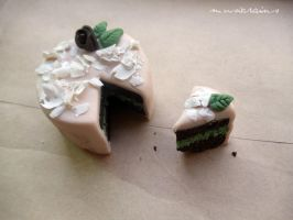 Mini Chocolate Mint Cake by MusicRains
