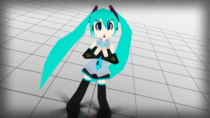 90's Miku by Alelokk