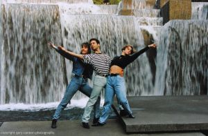 Three Dancers at Keller Fountain by worldtravel04