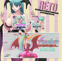 Reto Comic - Morrigan by MikuuChaan
