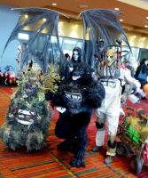My Costumes! Werewolf, Reaper, and Swamp Monster! by SilverWolfCostuming