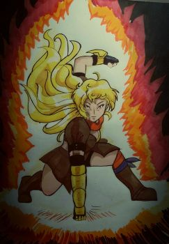 Epic yang by WolffangComics