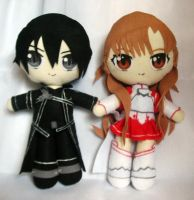SAO Kirito and Asuna by Eriamyv