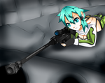 Sinon by Soft-nyeyinx