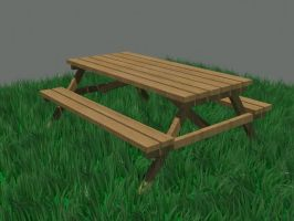 Picnic Table by todd102030