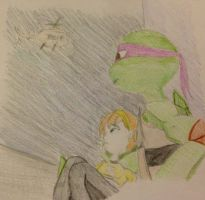 TMNT: Look Away by artgamerforever